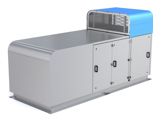 Recair Oy Economizer Product design and product development
